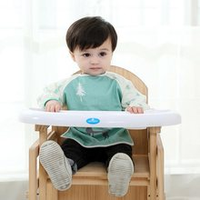 Toddler Baby Kids Clothes Boy Girls Cartoon Tshirt Long Sleeve Waterproof Feeding Coverall Art Paint Play Apron Bib Garden Smock(China)