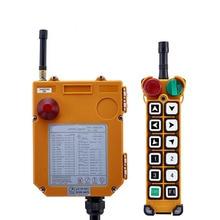 Original TELECRANE Wireless Industrial Remote Controller Electric Hoist Remote Control 1 Transmitter + 1 Receiver F24-12S f23 bb l ac dc65v 440v 1 transmitter 1 receiver industrial hoist crane wireless remote control