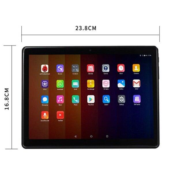 10.1 pouces enfants tablette 2.5D écran Android Quad Core double caméra WiFi éducation jeu cadeau pour garçons filles nous Plug - 4