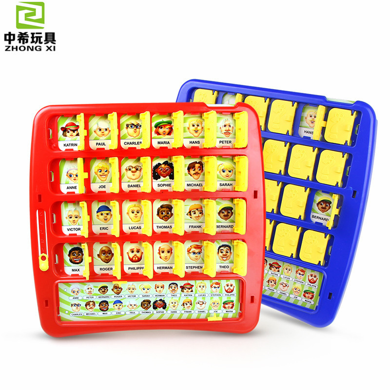 Guess Figure Guessing Class Guess Who Parent And Child Desktop Interactive Game Children'S Educational Creative Toy AliExpress