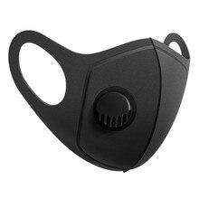 Маска для косплея на Хэллоуин многоразовая черная маска для рта унисекс уличная защитная маска для лица маска закрывающая рот