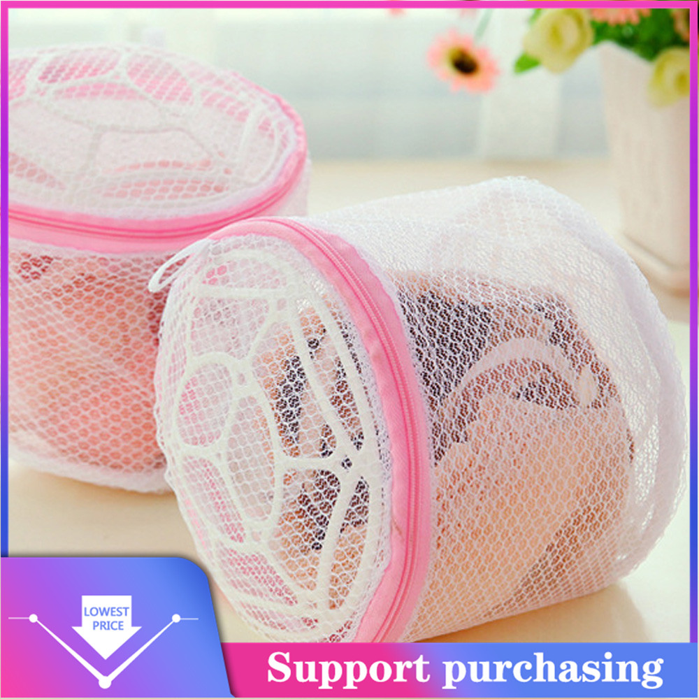 2019 NewLingerie Washing Home Use Mesh Clothing Underwear Organizer Washing Bag Useful Mesh Net Bra Wash Bag Zipper Laundry Bag