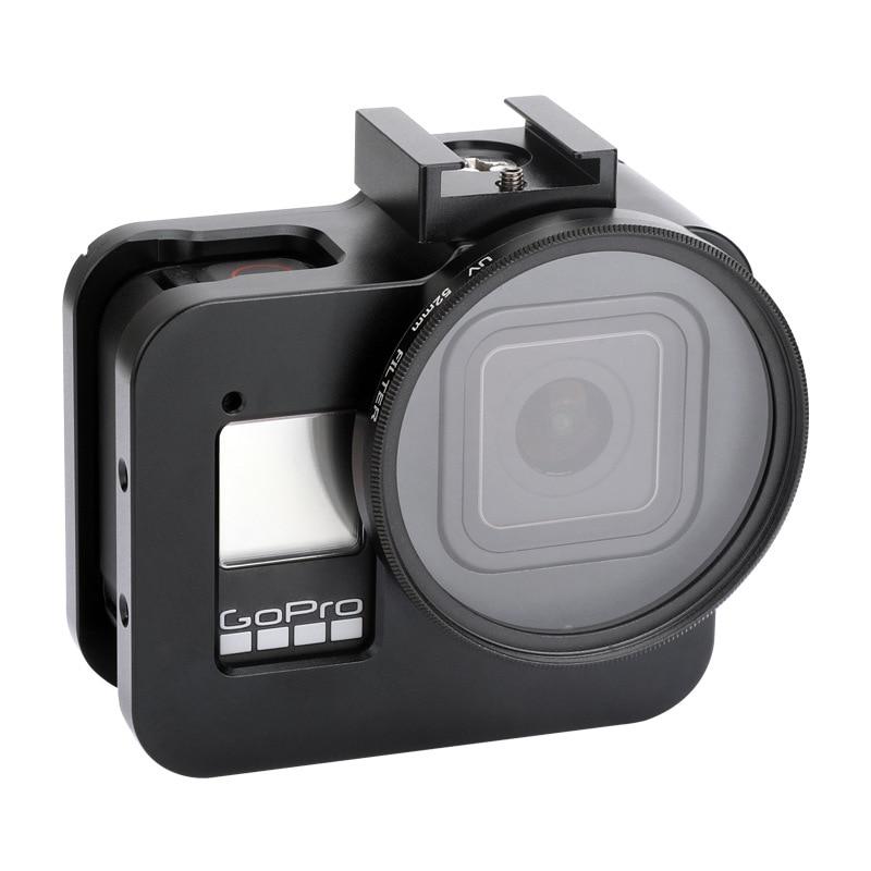 Per GoPro HERO 8 Black Silicon Camera Custodia Proteggere Pelle Gomma Copertura
