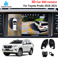 DVR Panorama-System 360-Degree Bird-View 4 for TOYOTA PRADO Car Recording Special
