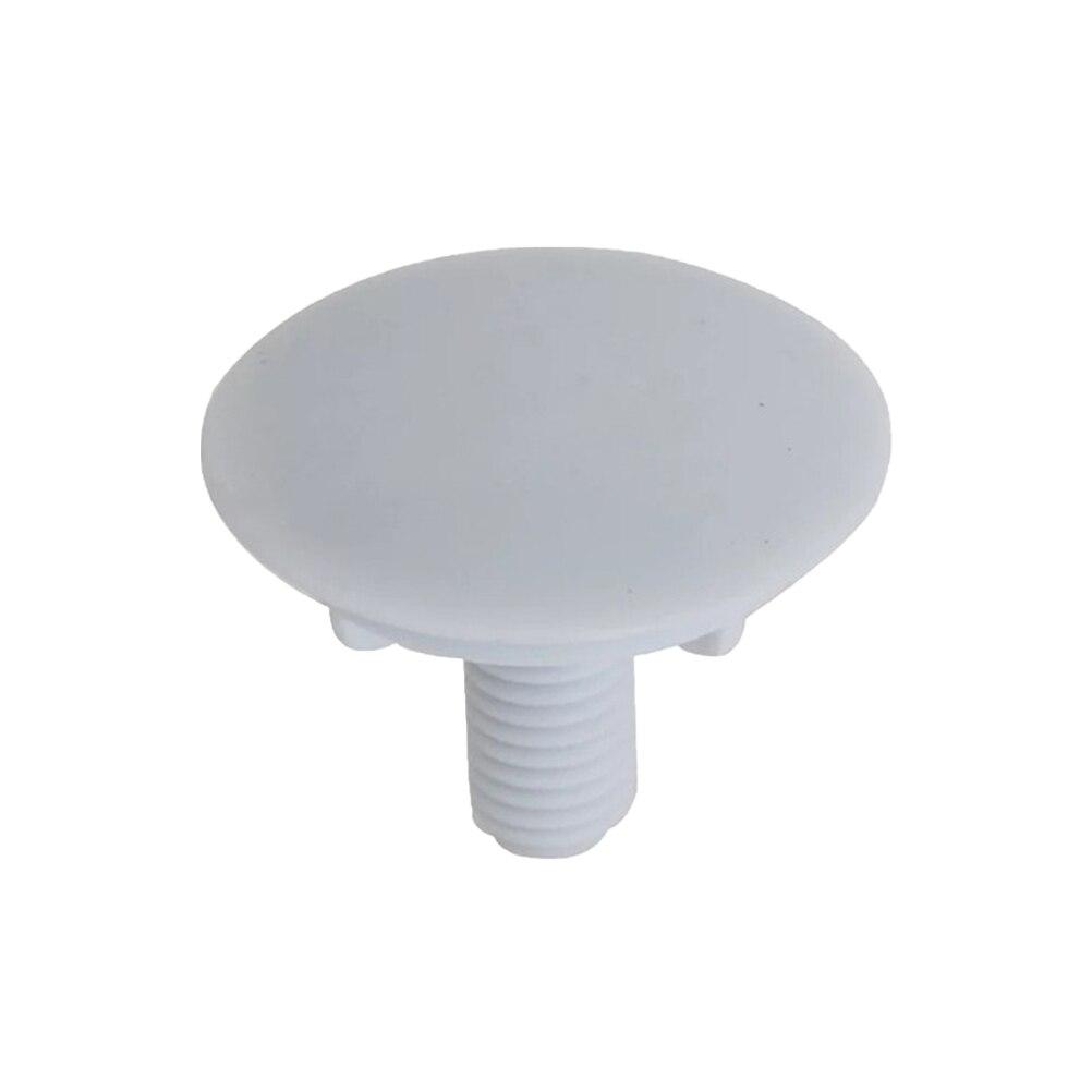 1pc Plastic Kitchen Faucet Hole Cover Soap Dispenser Plug Decorative Cover Kitchen Sink Tap Hole Plug Faucet Accessories (White)