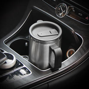 Cup-Kettle Coffee-Mug Car-Water Stainless-Steel Travel Electric Keep-Warmer Portable