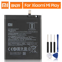 Оригинальная запасная батарея для xiaomi mi play bn39 настоящая