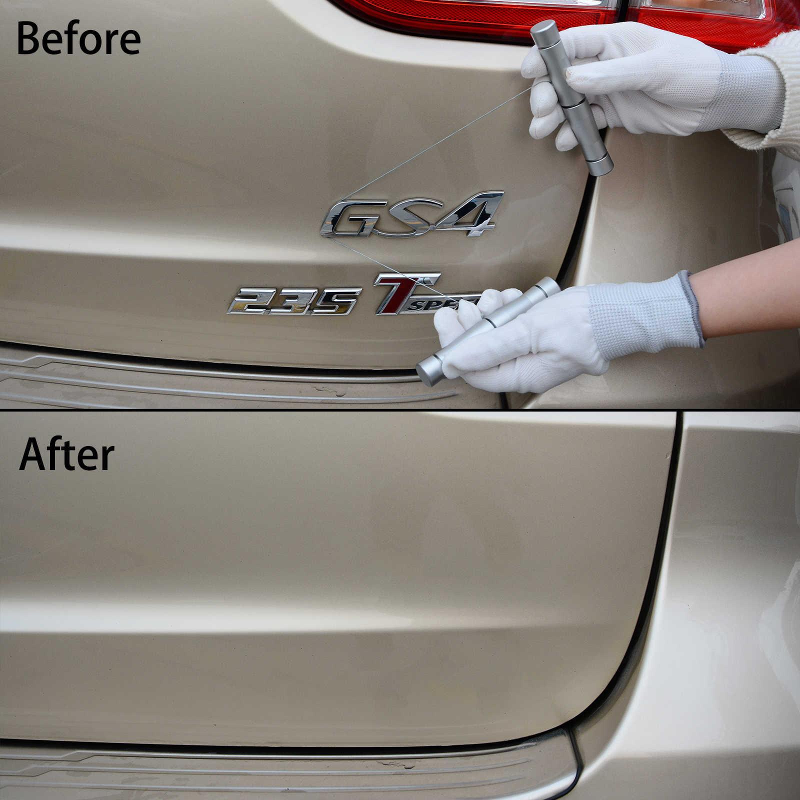 FOSHIO, herramienta para quitar el logotipo de la superficie del coche, cuerpo del vehículo, señal, quitar la cinta metálica sin cuchillo, envoltura de vinílico automático, herramienta de limpieza