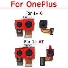 Originele Rear Front Camera Voor Oneplus 6 T Een Plus 6 T Selfie Frontale Terug Facing Achterzijde Camera Module Flex reparatie Onderdelen