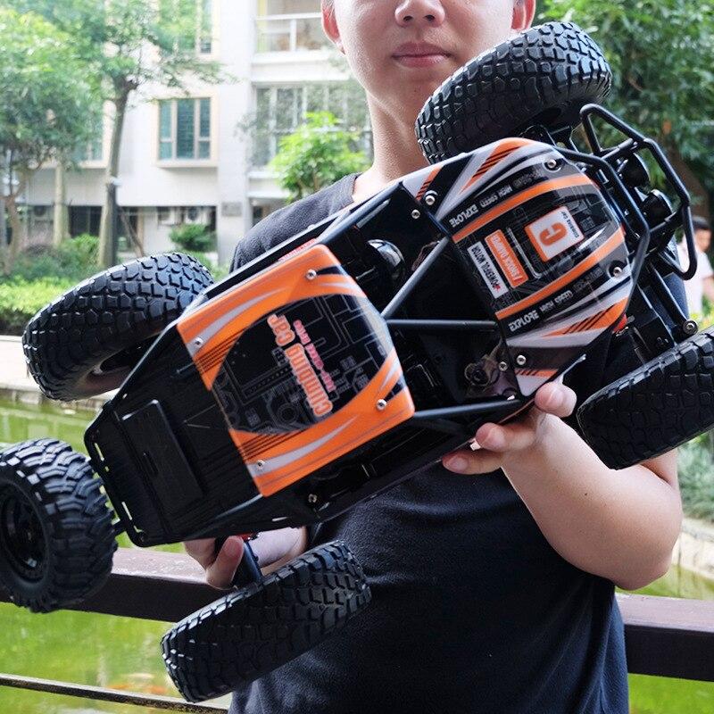 RC автомобиль Рок Гусеничный 1:14 2,4 ГГц 4WD внедорожный альпинистский водонепроницаемый пульт дистанционного управления автомобиль электронн