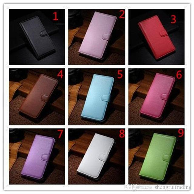 500Pcs/Lot Lychee Pattern Flip PU Leather Wallet Phone Case For Oppo Realme 7 Pro 7i C17 X7 Reno 4 SE 4G F17 5G A15 A72 A73 1