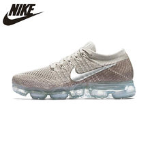 Original Authentic Nike Air VaporMax Flyknit Women's Running Shoes Sneakers Athletic Designer Footwear Top 849557-202(China)