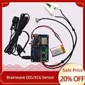 La Tecnologia EEG sensore TGAM delle onde cerebrali monitor di frequenza cardiaca modulo di comunicazione wireless Zigbee EEG/ECG scheda di acquisizione