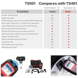 Image 5 - I sensori di pressione dei pneumatici TPMS Autel TS501 attivano e decodiscono lo strumento come TS508 TS601