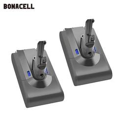 Bonacell V8 4000mAh 21,6 V батарея для Dyson V8 батарея абсолютная V8 животное Li-Ion SV10 Пылесос аккумуляторная батарея L70