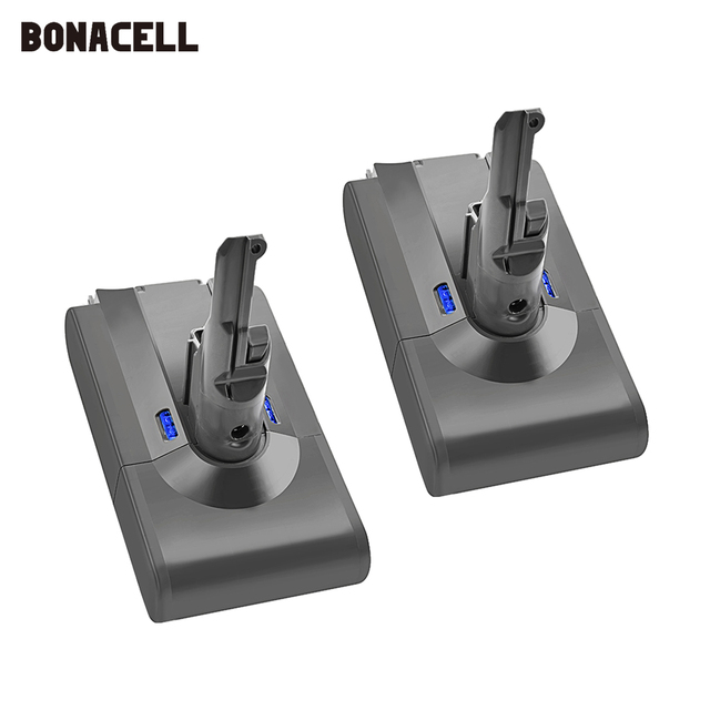 Bonacell V8 4000mAh 21.6V סוללה עבור דייסון V8 סוללה מוחלט V8 בעלי החיים ליתיום SV10 שואב אבק נטענת סוללה l70