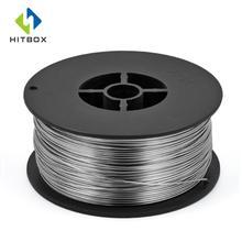 HITBOX 1,0 мм 1 кг флюсовая проволока для сварки MIG, самоэкранированная сварочная проволока E71T-GS типа