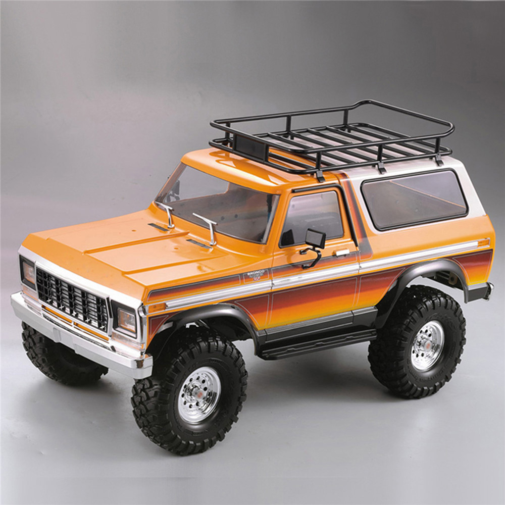 Hard Plastic <font><b>Body</b></font> <font><b>Car</b></font> <font><b>Shell</b></font> 313mm Wheelbase Unassembled Kit for <font><b>1/10</b></font> TRAXXAS TRX4 Ford Bronco Axial SCX10 90046 <font><b>RC</b></font> Crawler Parts image