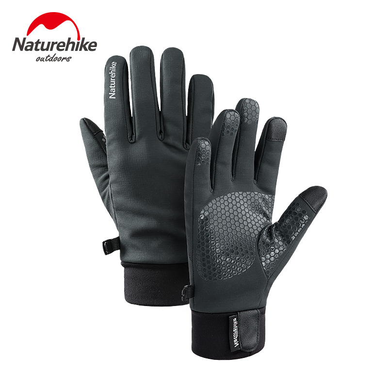 Naturehike Men Women Lightweight Waterproof Winter Ski Gloves Cold Weather Running Gloves Touch Screen Cycling Hiking Gloves