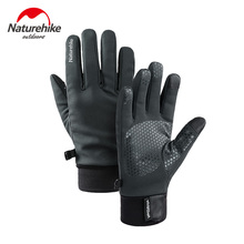 Naturehike Men Women Lightweight Waterproof Winter Ski Gloves Cold Weather Running Touch Screen Cycling Hiking