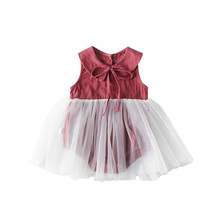 2019 Summer Baby Girl Clothes Romper Dress Birthday Kids Dresses For Girls Clothing Tulle Princess Dress Baby Party Costume