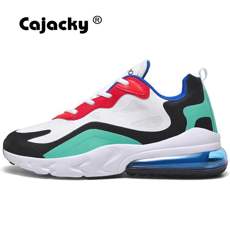 Cajacky High Quality Men Running Shoes Plus Size 47 46 Men Sneakers Breathable Air Mesh Men Jogging Trainers Lace Up Men Shoes