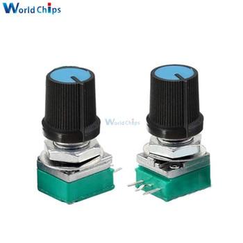 1M Ohm B1M Eje Estriado Lineal Potenciómetro rotativo conicidad tipo Single Sgh 10 un