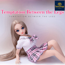 TPE Barbi Sex Doll Realistic Sex Silicone Dolls Adults Toys For Men Sexy Shop Not Inflatable mini cock sexdoll Dildo Store(China)