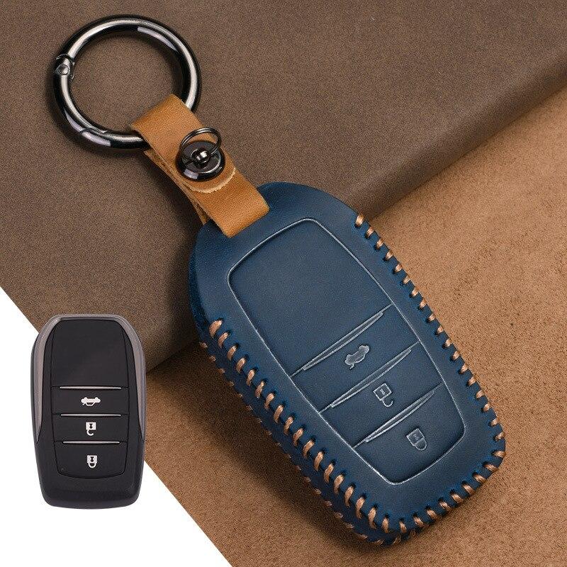 2021 чехол для автомобильного ключа чехол для Toyota C-hr Land Cruiser 200 Avensis Auris Corolla 2017 2018 2019 Аксессуары Защитный брелок