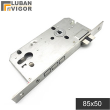 Cylinder Lock Silent for Height 32mm 8550 Heavy-Spring/strong-Return Square-Panel Tongue
