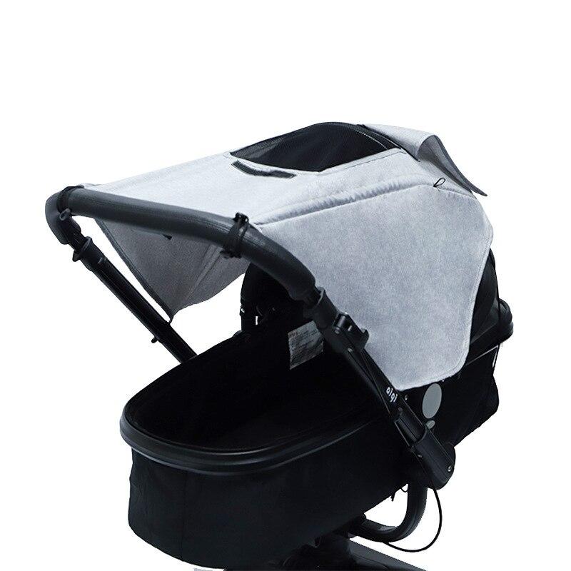 Солнцезащитный коляску, аксессуар для автомобильного сиденья, защита от УФ-лучей, дышащий универсальный чехол для защиты глаз 1