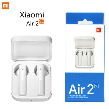 Xiaomi Air 2 SE TWS bezprzewodowe słuchawki sportowe Bluetooth Air 2SE HD Bass słuchawki douszne AirDots Pro 2 SE 20 godzin bateria dotykowa tanie i dobre opinie Zaczepiane na uchu Dynamiczny CN (pochodzenie) Prawdziwie bezprzewodowe 120dB 40mW Do kafejki internetowej Słuchawki do monitora