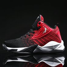 New Mens Basketball Shoes Breathable Basketball Sneakers Women Couple Sports Shoes Fitness Trainers Mens Retro Basketball Shoes cheap hemmyi CN(Origin) Medium(B M) Medium cut Rubber Cotton Fabric 9109 FREE FLEXIBLE Lace-Up Others Fits true to size take your normal size