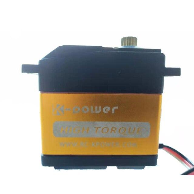 K power MM3000 engranaje de Metal de alta torsión, Servo resistente al agua a escala 0,18, coche de control remoto/Robot RC, 35KG/1/5 s
