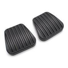 Auto Accessoires 2Pcs Rem Koppeling Pedaal Pad Covers 560808 Voor Opel Vauxhall Corsa Vectra Ab Kadett Tigra Astra F Calibra Combo