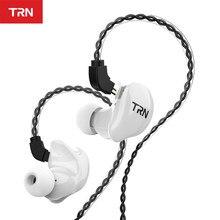 Trn v10 2dd 2ba híbrido fones de ouvido no fone de alta fidelidade dj monitor correndo esporte fone de ouvido trn v90 v20 v80 v30 as10 t2