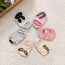 Младенец кролик медведь стиль хлопок носки новорожденный младенец пол мальчики дети носки