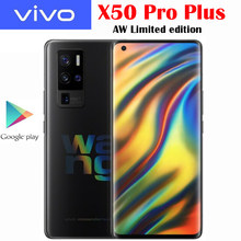 VIVO-teléfono móvil X50 Pro + Plus 5G, oficial, edición limitada, 6,56 pulgadas, 120Hz, 2376x1080, AOMLED, cámara de 50MP