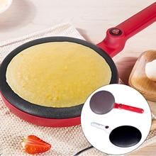 Behogar портативный производитель электрического крепежа антипригарная Беспроводная Блинная сковорода с погружной пластиной для изготовления блинов Blintz Tortilla EU Plug