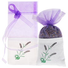 15*7.5cm Natural Lavender Bud Dried Flower Sachet Bag Aromatherapy Aromatic Household  Wardrobe Car Lavender Air Fresheners