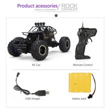 Large Alloy 4WD Drifting Climbing Cars High Speed 2.4Ghz Radio Remote Control Car RC Off Road Fast Racing Rock Crawler
