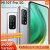 Global Version Xiaomi Mi 10T PRO 8GB+256GB 5G Smartphone Snapdragon 865 108MP Camera 144HZ 6.67���Screen 5000mAh 33W Fast charge