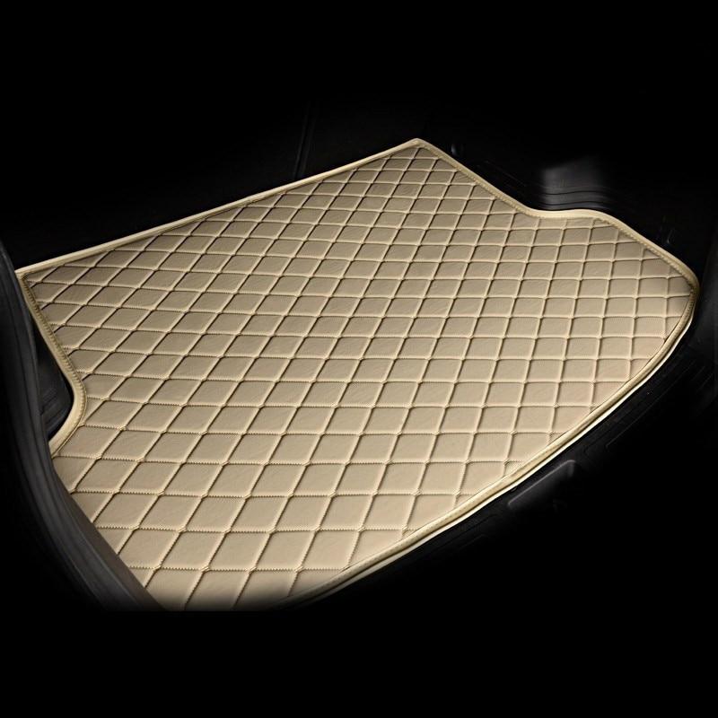 custom Car trunk mat for Audi all model A1 A3 A8 A7 Q3 Q5 Q7 A4 A5 A6 S3 S5 S6 S7 S8 R8 TT SQ5 SR4 7 car styling