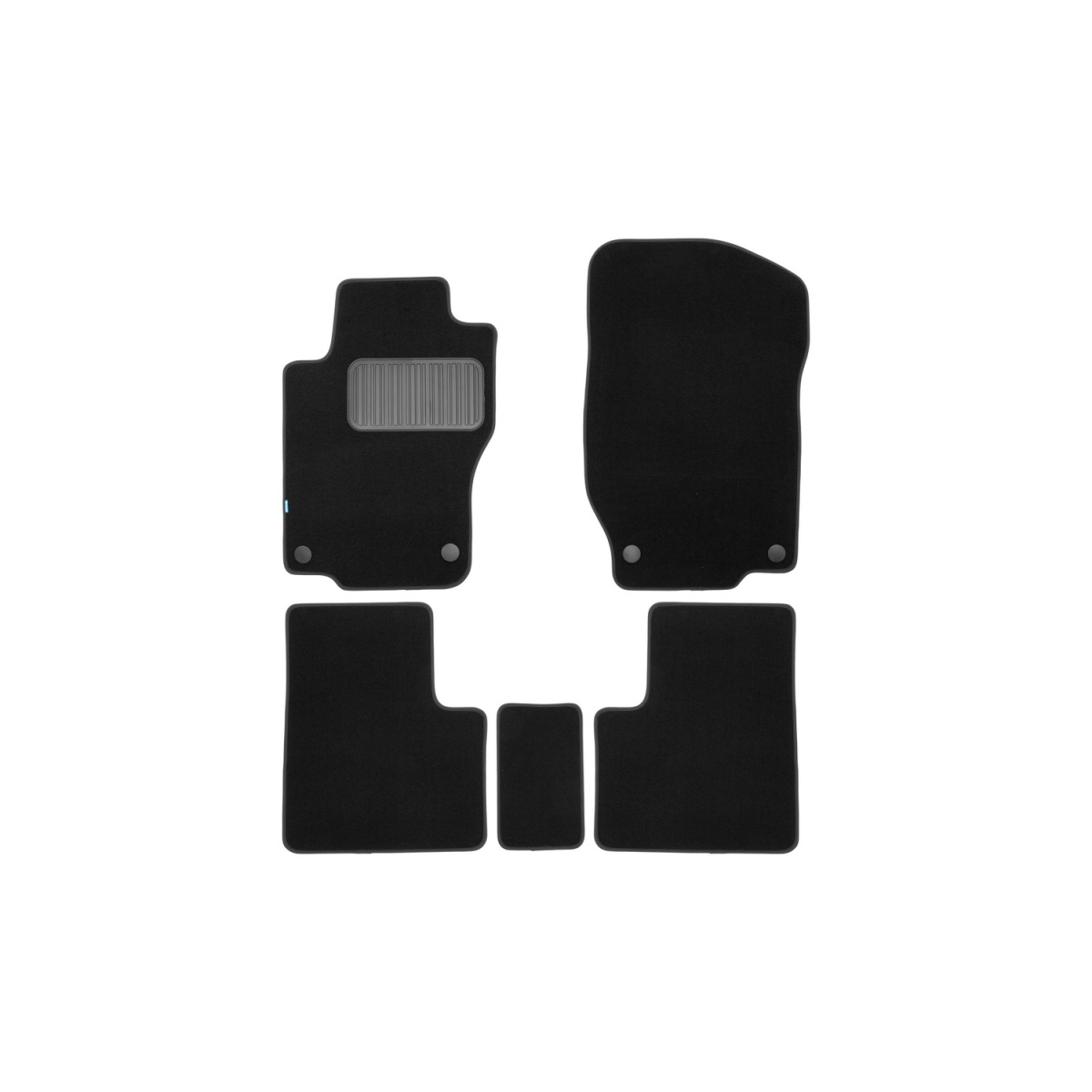 10 x MERCEDES-BENZ Hebilla Del Cinturón de seguridad Botón Soporte Tuerca