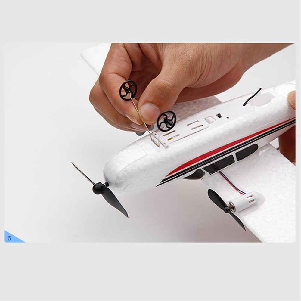 Débutant Électrique avion RC rtf Kit UAV Cessna 182 Distance de vol 150 mètres Télécommande avion 2.4G contrôleur DIY Avion Mousse Glider Électrique Costume pour Plus Batterie golbal vente chaude Jouets Cadeau global 3