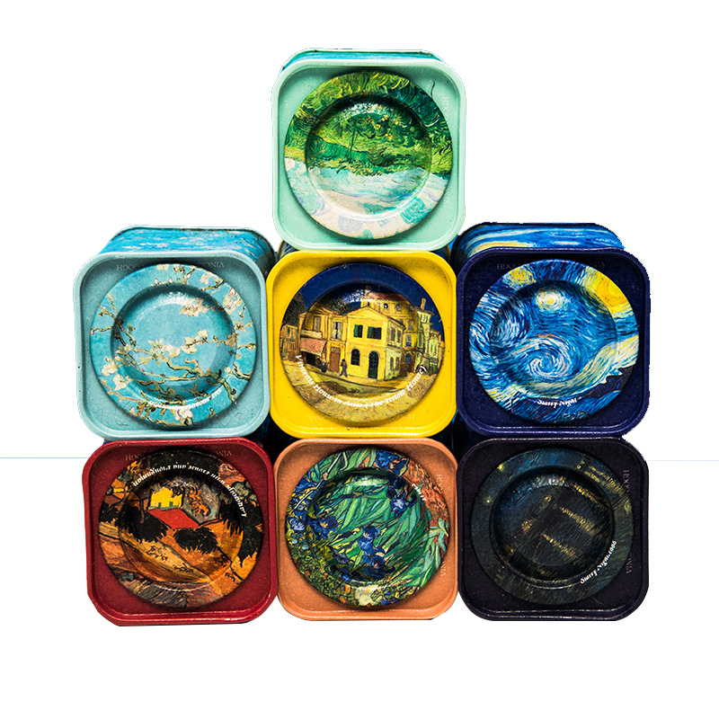 Gracie Metal Mini Size Tea Canister Set of 7