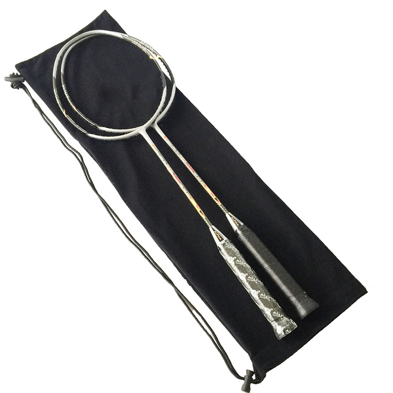 Plush Cloth Badminton Racket Ball Bag Single Shoulder Diagonal Waterproof Squash Storage Backpack Sport Training Cover Youth