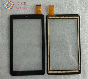 Черный 7-дюймовый сенсорный экран для TurboPad 712 new / Texet X-pad Lite 7 / TM-7056 TM-7066 WiF/ Oysters T74HS WiFi сенсорный экран