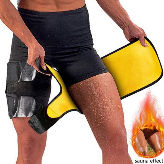 Slim Thigh Trimmer Leg Shapers Slender Slimming Belt Neoprene Sweat Shapewear Toned Muscles Band Thigh Slimmer Wrap 1
