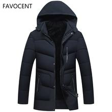 FAVOCENT Good Quality Men Jacket Super Warm Thick Mens Winter Parkas Long Coats with Hood for Leisure Men Parka Plus Size 5XL